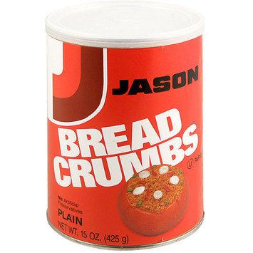 Jason Plain Bread Crumbs, 15 oz (Pack of 12)