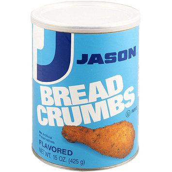 Jason Seasoned Bread Crumbs, 15 oz (Pack of 12)
