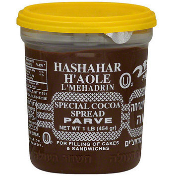 Hashachar Hashashar H'aole Special Cocoa Spread, 16 oz (Pack of 24)