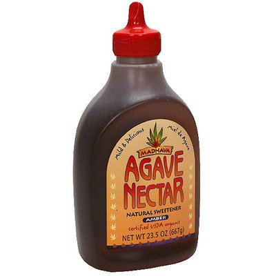 Madhava Amber Agave Nectar, 23.5 oz (Pack of 6)