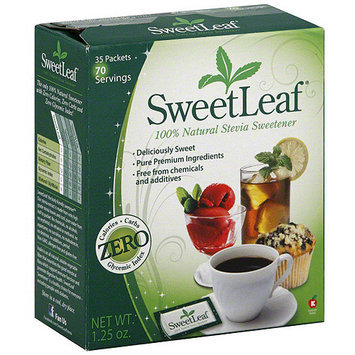 Sweet Leaf Sweetleaf 100% Natural Stevia Sweetener