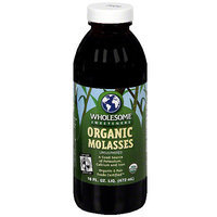 Wholesome Sweeteners Organic Molasses, 16 oz (Pack of 12)