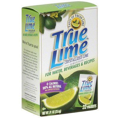 True Lemon True Lime Crystallized Lime, 32ct (Pack of 12)