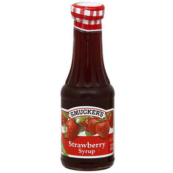 Smucker's Strawberry Syrup, 12 oz (Pack of 6)