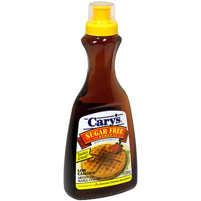 Carys Cary's Sugar Free Syrup, 12 oz (Pack of 12)