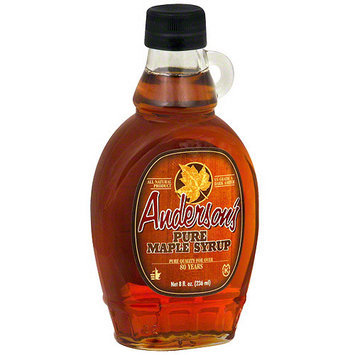 Andersons Anderson's Pure Maple Syrup, 8 oz (Pack of 6)