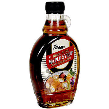 Reese: Syrup 100% Pure Maple 8 Oz, 12 Pk, (Pack of 12)