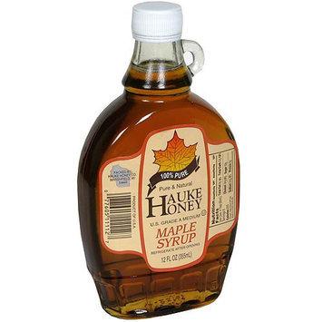 Hauke Honey Maple Syrup, 12 oz (Pack of 12)