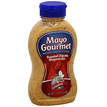Woeber's Mayonnaise With Roasted Chipotle, 11 oz (Pack of 6)