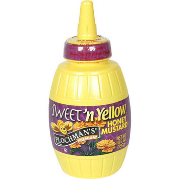 Plochman's Premium Sweet 'N Yellow Honey Mustard, 10. 5 oz (Pack of 6)