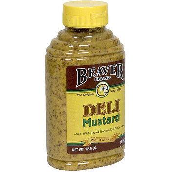 Beaver Brand Deli Mustard, 12.5 oz (Pack of 6)