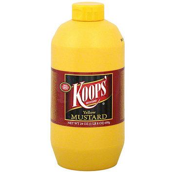 Koop's Koops' Yellow Mustard, 24 oz (Pack of 12)