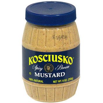 Kosciusko Spicy Mustard Brown, 8 oz (Pack of 6)