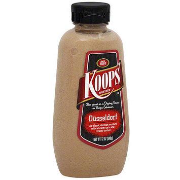 Koop's Koops' Dusseldorf Mustard, 12 oz (Pack of 12)