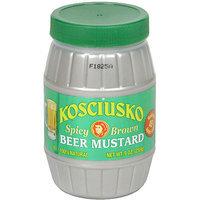Kosciusko Spicy Brown Beer Mustard, 9 oz (Pack of 6)