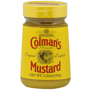 Colmans Colman's Of Norwich Hot English Mustard, 3.53 oz (Pack of 12)
