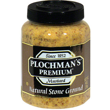 Plochman's Premium Natural Stone Ground Mustard, 9 oz (Pack of 12)