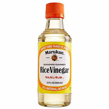 Marukan All Natural Seasoned Gourmet Rice Vinegar, 12FO (Pack of 6)