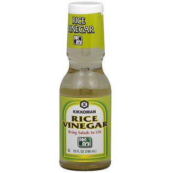 Kikkoman Rice Vinegar, 10 oz (Pack of 12)