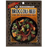 Kikkoman Broccoli-Beef Stir-Fry Seasoning Mix Soup, 1 oz (Pack of 24)