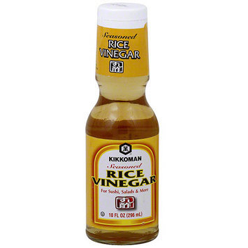 Kikkoman Seasoned Rice Vinegar, 10 oz (Pack of 12)