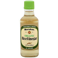 Marukan Organic Rice Vinegar, 12FO (Pack of 6)