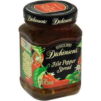 Dickinsons Dickinson's Hot Pepper Spread, 9.5 oz (Pack of 6)