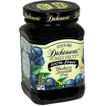 Dickinsons Dickinson's Blueberry Spread, 9.5 oz (Pack of 6)