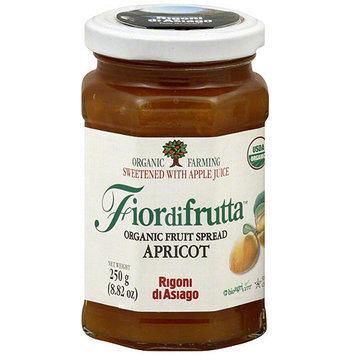 Fiordifrutta Organic Apricot Fruit Spread, 8.82 oz (Pack of 6)