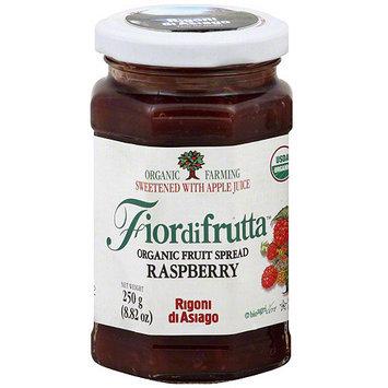 Fiordifrutta Organic Raspberry Fruit Spread, 8.82 oz (Pack of 6)