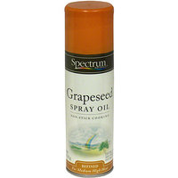 Spectrum Naturals Refined Grapeseed Oil Spray, 6 oz (Pack of 6)
