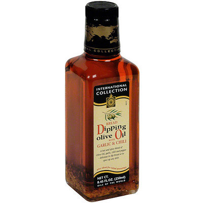 International Collection Dipping Olive Oil With Garlic & Chili, 8.45 oz (Pack of 6)