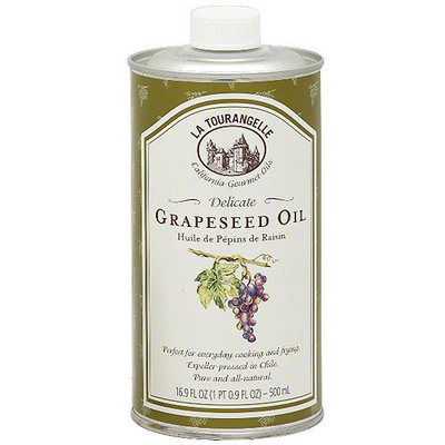 La Tourangelle Gourmet Expeller-Pressed Grapeseed oil, 16.9 oz (Pack of 6)