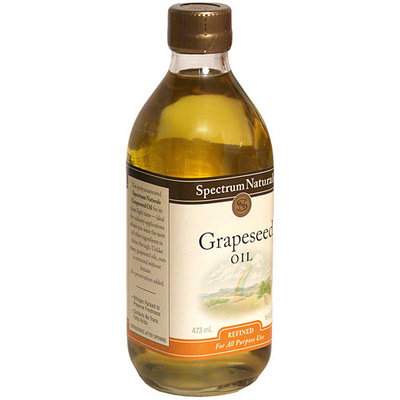 Spectrum Naturals Grapeseed Oil, 16 oz (Pack of 6)