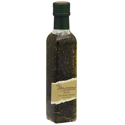 Benissimo Basil & Sun Dried Tomato Oil, 8.1 oz (Pack of 6)