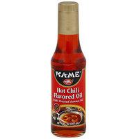 Kame Ka-Me Hot Chili Flavored Oil, 7 oz (Pack of 6)