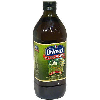 DaVinci Premium Reserve Extra Virgin Olive Oil, 34 oz (Pack of 6)