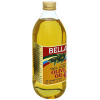 Bella 100% Pure Olive Oil, 34 oz (Pack of 6)