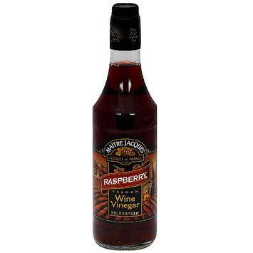 Maitre Jacques Raspberry French Wine Vinegar, 16.9 oz (Pack of 6)