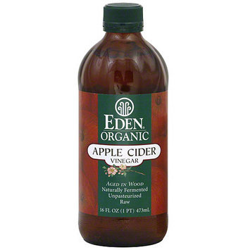 Eden Organic Apple Cider Vinegar, 16 oz (Pack of 12)