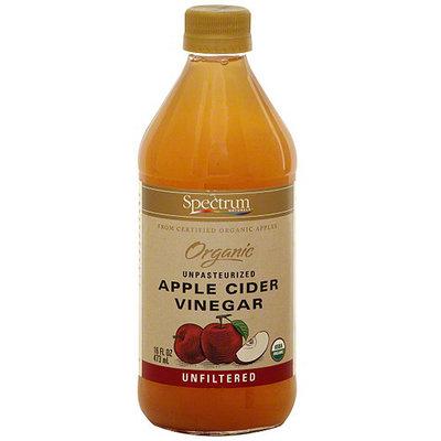 Spectrum Naturals Unfiltered Apple Cider Vinegar, 16 oz (Pack of 6)