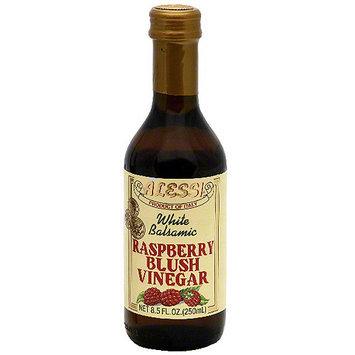Alessi Raspberry Blush White Balsamic Vinegar, 8.5 oz (Pack of 6)