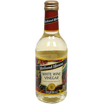 Holland House. Holland House White Wine Vinegar, 12 oz (Pack of 6)