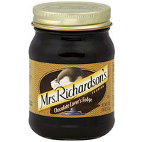 Mrs Richardson's Mrs. Richardson's Chocolate Lover's Fudge Topping, 16 oz (Pack of 6)