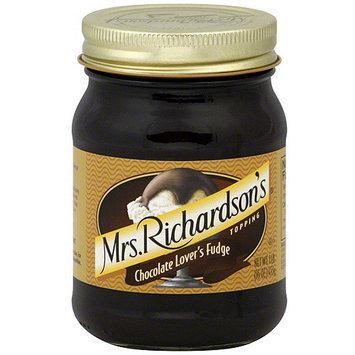 Mrs Richardson's Mrs. Richardson's Chocolate Lover's Fudge Topping, 16 oz (Pack of 6)