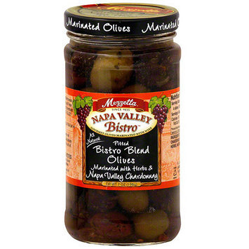 Napa Valley Bistro Pitted Marinated Olives, 7.5 oz (Pack of 6)