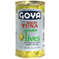 Goya® Olives Stuffed with Minced Tuna