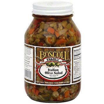 Boscoli Family Italian Olive Salad, 32 oz (Pack of 6)
