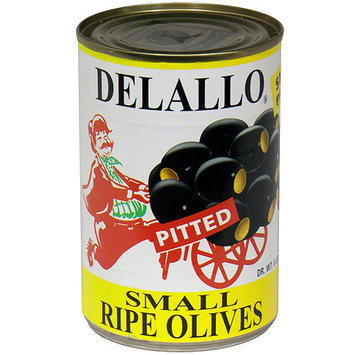 DeLallo Pitted Small Ripe Olives, 6 oz (Pack of 24)