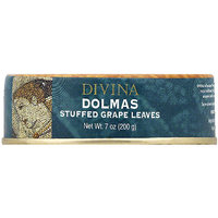 Divina Dolmas Stuffed Grape Leaves, 7 oz (Pack of 12)
